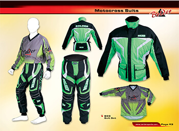 motocross suits for men