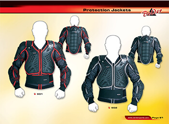 motorbike protection jacket